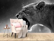 Фотообои дикая кошка - 4