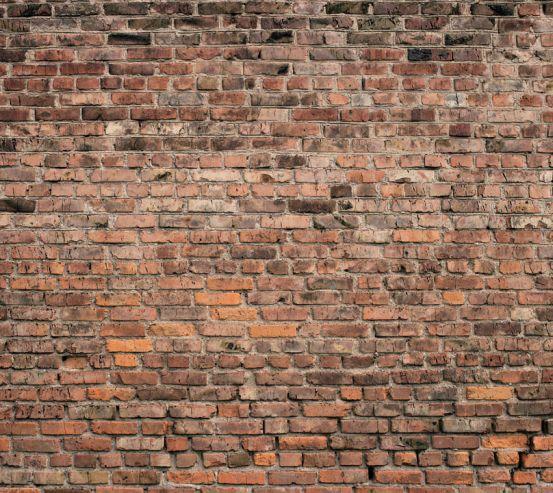 Фотошпалери Коричнева цегляна стіна 20241