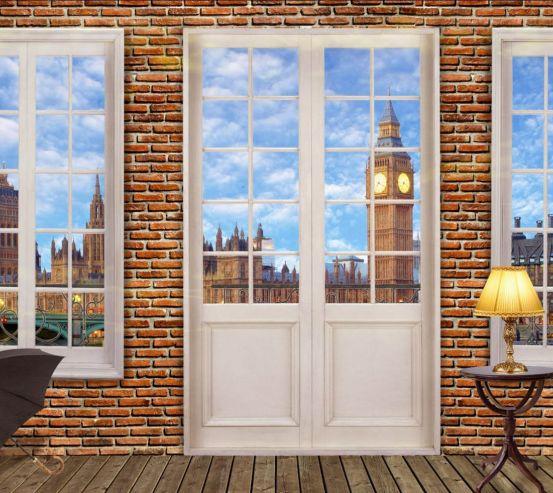 Фотошпалери Вид з вікна на Біг Бен 28061