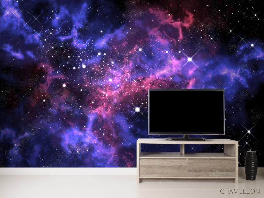Фотообои сияние звёзд в космосе - 2