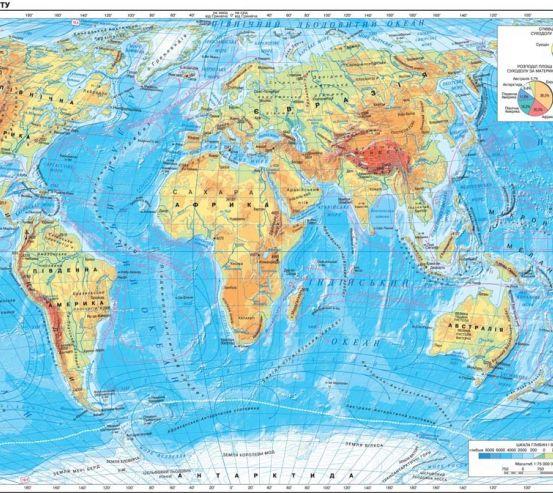Фотообои Карта 17260