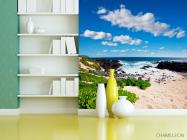 Фотообои Пустынный морской пляж - 3