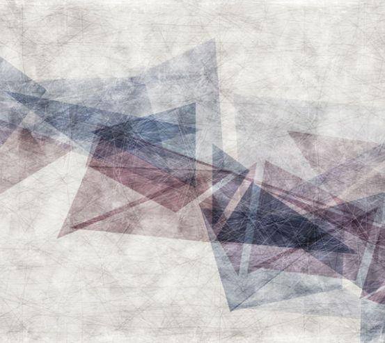 Фотообои Композиция из треугольников 22933