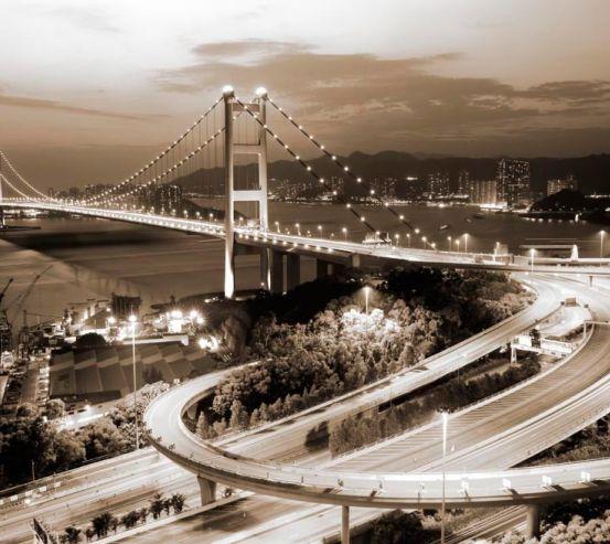 Фотообои Развязка возле моста 10718