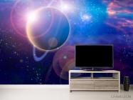 Фотообои Планета и млечный путь - 2