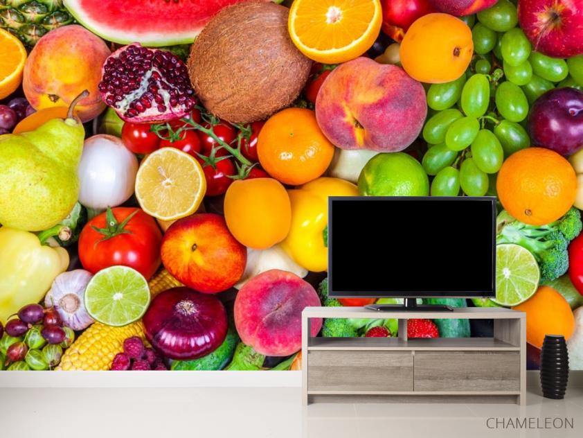 Фотообои фрукты и овощи - 2