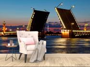 Фотообои Мост в Санкт-Петербурге - 4