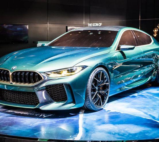 Фотообои BMW gran tourer 21589