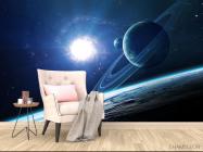 Фотообои планеты и сияние - 4
