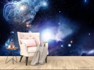 Фотообои космос с яркой звездой - 4
