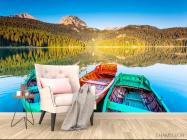 Фотообои Три лодки - 4