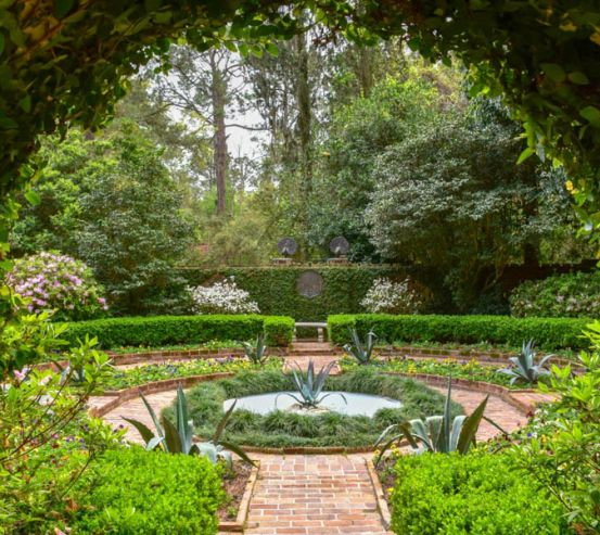 Фотообои Арка в саду 27049