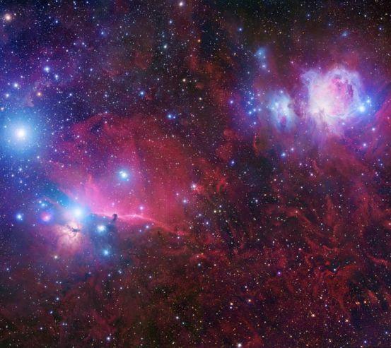 Фотообои Туманность Ориона 0772