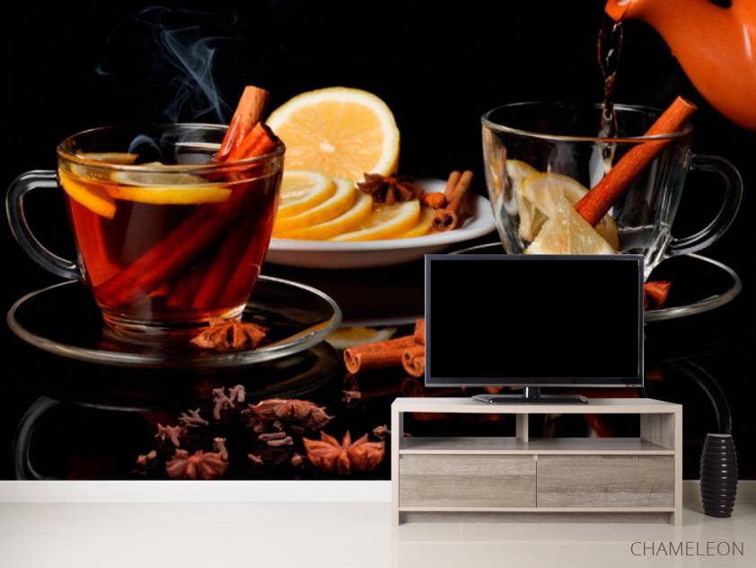 Фотообои в кухню Чай - 2