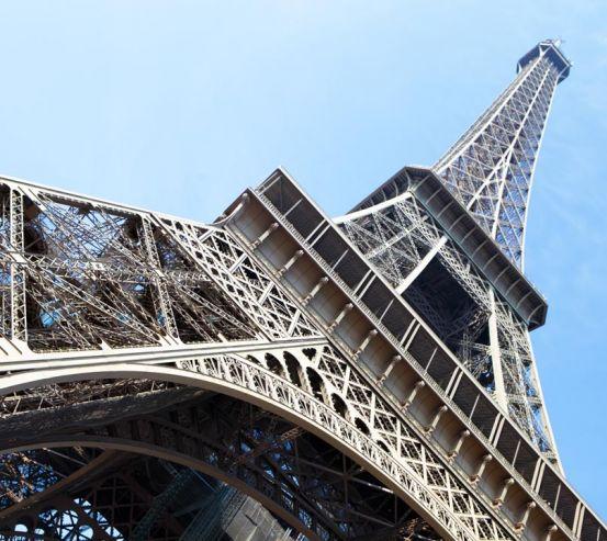 Фотообои внизу Эйфелевой башни 21321