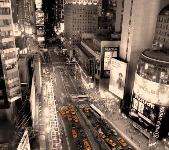Фотообои Такси, пробка,вечер 5602