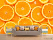 Фотообои Нарезанные апельсины - 1