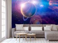 Фотообои Планета и млечный путь - 3