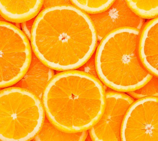 Фотообои Нарезанные апельсины 1230