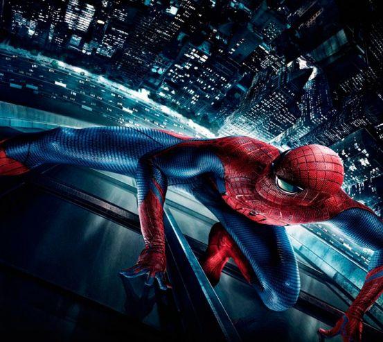 Фотообои Человек паук в городе  15870