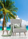 Фотообои пальма на берегу моря - 3