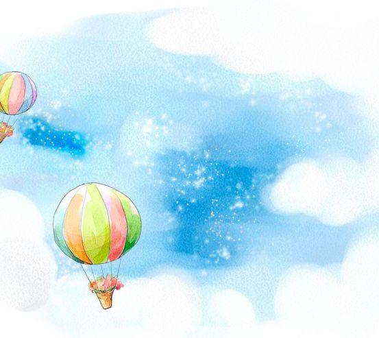 Фотообои Воздушные шары 7900