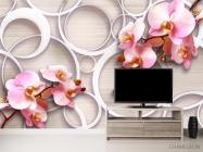 Фотообои Орхидеи 3д - 2