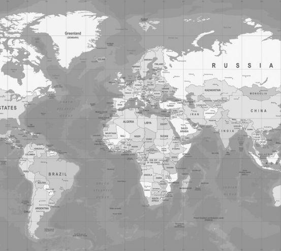 Фотообои карта 20253-h