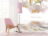 Фотообои Орхидеи белоснежные - 4