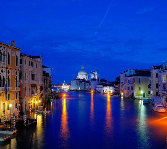 Фотообои Ночная Италия 8067