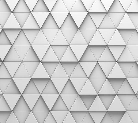 Фотообои выпуклые треугольники 21389