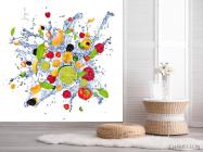 Фотообои фрукты и вода - 2
