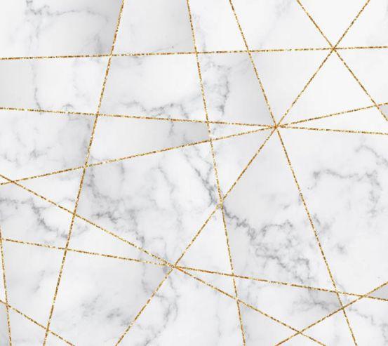 Фотообои Золотые линии на мраморе 28593