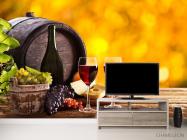Фотообои вино в бочке - 2