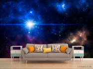 Фотообои Звезда в космосе - 1