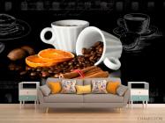 Фотообои в кухню Кофе - 1