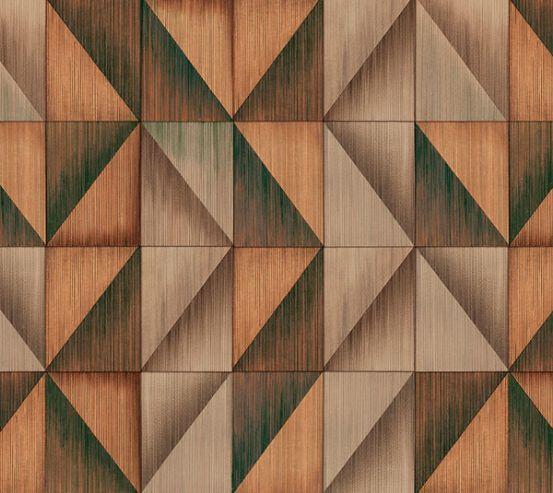 Фотообои Геометрия коричневая 19974