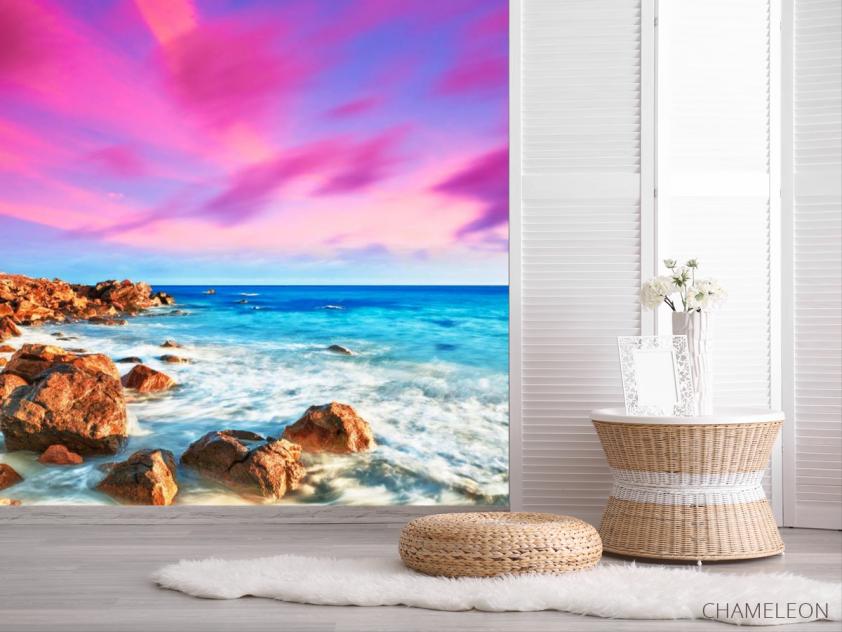 Фотообои Морской берег, камни - 2