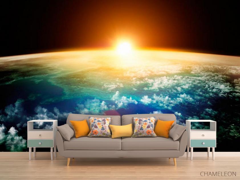 Фотообои Земля и солнце - 1