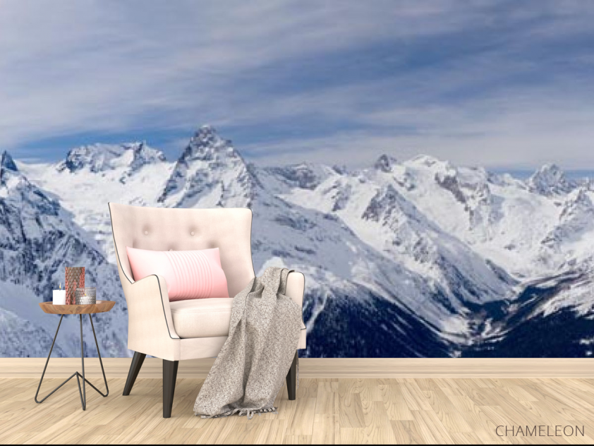 Фотообои снежные горы - 4