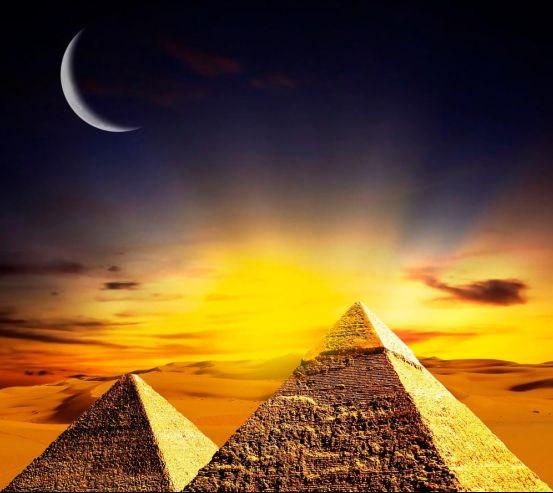Фотообои Египетские пирамиды 2638