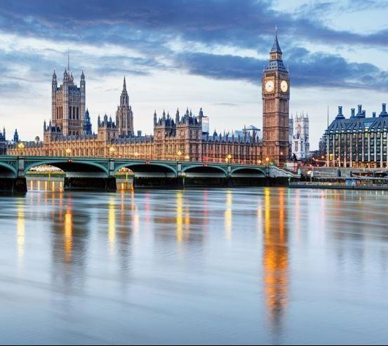 Фотообои Лондон сепия 20947