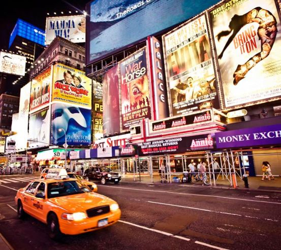 Фотообои Реклама, такси, New York 9806