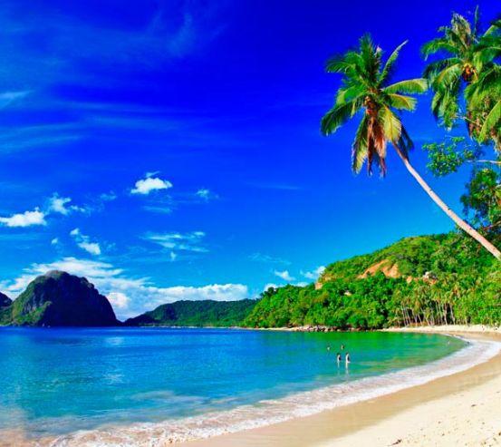 Фотообои Пляж и люди 9585