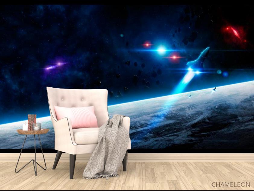 Фотообои Шатл и астероиды - 4
