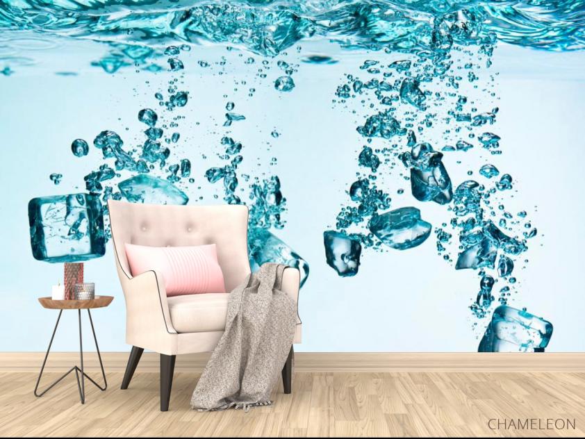 Фотообои Лёд, вода - 4