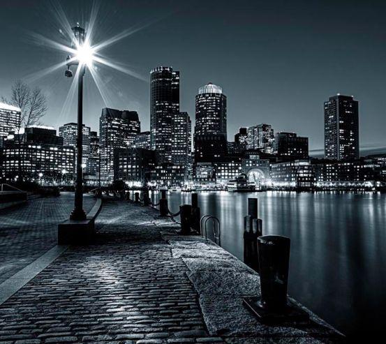 Фотообои Набережная New Yorkа ночь  6025