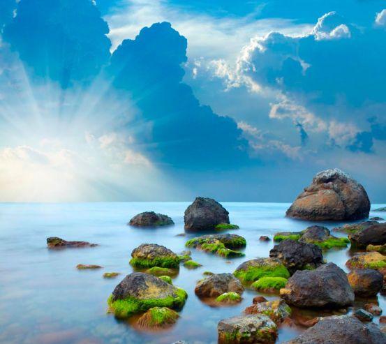 Фотообои Большые камни 5234