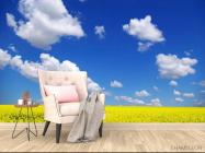 Фотообои Цвет и небо - 4