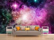 Фотообои Фиолетовая туманность - 1